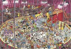Diset - 01499 - Puzzle - Comic 3000 - Le Cirque: Amazon.fr: Jeux et Jouets