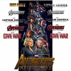 I love how except for their intro movies, every single movie one of them has been in the other was there with them. You can't say that about any of the other avengers.