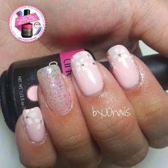 #angelprogelly #nail #nailart #naildesign #gellyart #floral #floralnail