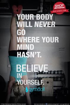 Make yourself your priority and stay dedicated to building stronger and healthier you. No one else can do it for you. Believe in yourself.