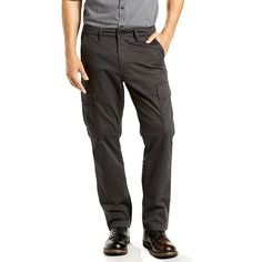 Men's Levi's® 541™ Athletic-Fit Stretch Cargo Pants, Size: 34X34, Grey Other