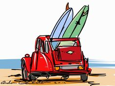 Citreon One of my surf art drawings. My website offers the chance to buy this design on t-shirts, sweatshirts, hoodies, mugs and other stuff. Surfing Tips, Surfing Quotes, Surfing Wallpaper, Tableau Pop Art, Surf Tattoo, Vintage Tiki, Surfing Pictures, Surf Art, Surf Style