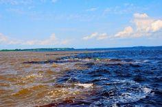 Encontro das Águas em Manaus, AM
