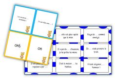 Jeux homophones - La classe de Mallory - Ressources pour le CM Teaching French, Les Homophones, Montessori, Cycle 3, Education And Literacy, French Grammar, Learning Tools, Learn French