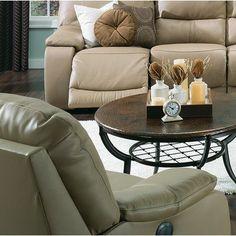 Palliser Furniture Norwood Wall Hugger Recliner Upholstery: Bonded Leather - Champion Mink, Leather Type: Bonded Leather, Type: Manual