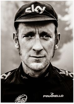 Sir Bradley Wiggins (1980) - British professional road and track racing cyclist. Photo by Andrew Shaylor