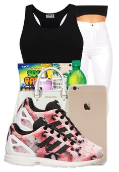 """""""."""" by ray-royals ❤ liked on Polyvore featuring adidas"""