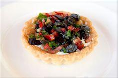 Mixed olive tart