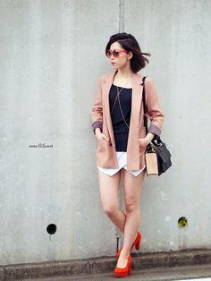 shoes t-shirt shorts jacket bag sunglasses xoxo hilamee