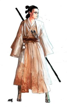 Feudal Star Wars: The Force Awakens Samurai Inspired Redesigns http://geekxgirls.com/article.php?ID=6373