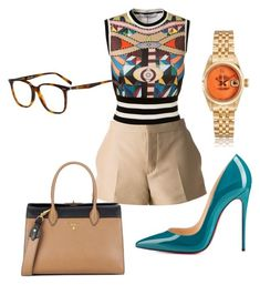 """Untitled #58"" by sweetel on Polyvore featuring Marni, Givenchy, Prada, Christian Louboutin and CÉLINE"