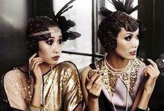 déguisement fille années 20 gatsby