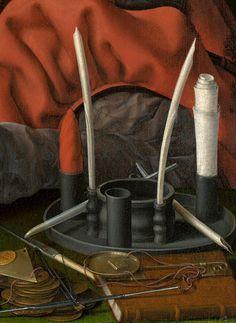 Jan Gossaert (Jan Mabuse), Portrait of a Merchant, (~1530)