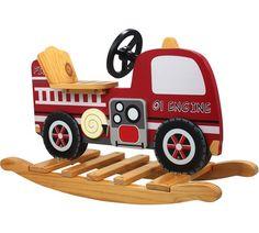 Buy Fire Engine Rocker at Argos.co.uk, visit Argos.co.uk to shop online for Rocking horses, Outdoor toys, Toys