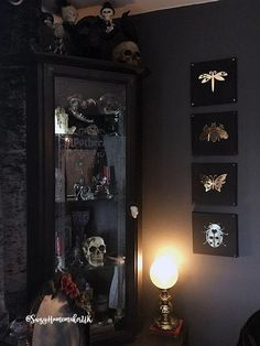 Victorian Gothic Dining Room Decor – The World of Suzy Homemaker: www.suzyhomema… Victorian Gothic Dining Room Decor – The World of Suzy Homemaker: www. Dark Home Decor, Goth Home Decor, Home Decor Bedroom, Vintage Home Decor, Entryway Decor, Gothic Bedroom Decor, Goth Bedroom, Bedroom Ideas, Vintage Room