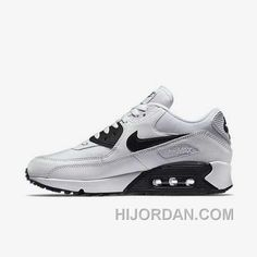 competitive price 67282 ce335 Nike Air Max 90 Womens White Black For Sale WDWr2