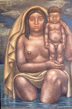 Bachué madre de la raza chibcha - Luis Alberto Acuña