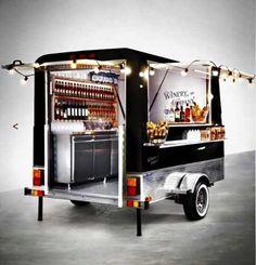 Food Inspiration trailer gastronomico food truck homologado y patentable ! Mobile Bar, Streetfood Market, Foodtrucks Ideas, Coffee Food Truck, Mobile Food Trucks, Mobile Food Cart, Bike Food, Coffee Trailer, Food Truck Business
