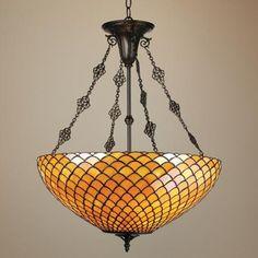 tiffany pendant chandelier