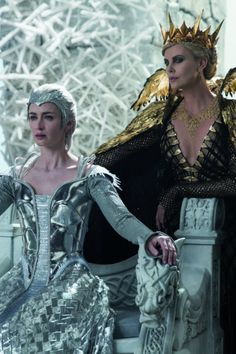 Pin for Later: Get an Exclusive Look at Unseen Footage From The Huntsman: Winter's War