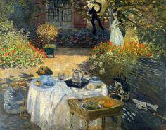The Luncheon, 1873, Claude Monet