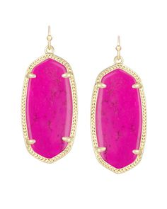 Elle Earrings in Magenta - Kendra Scott Jewelry