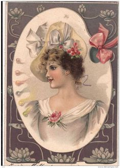 Stamps, coins and banknotes, postcards or any other collectable items are on Delcampe! Images Victoriennes, Victorian Women, Vintage Images, Views Album, Clip Art, Artist, Painting, Vintage Illustrations, Public Domain