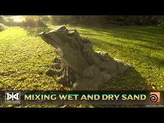 (10) VMT 046 - Houdini - Mixing Wet and Dry Sand - YouTube