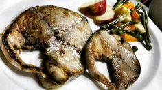 pan grilled kingfish