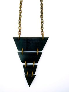 TRIBAL Recycled Inner tube NECKLACE  Free by BeatriceHoliday, $48.00