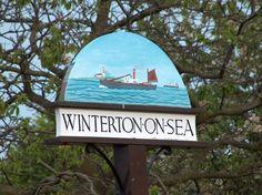 Winterton-on-Sea, Norfolk Norfolk Beach, Norfolk Coast, Seaside Village, Seaside Towns, Pictures Of England, Norwich Norfolk, Great Yarmouth, English Village, Pub Signs