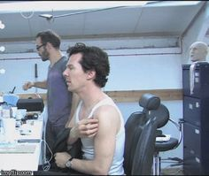 Benedict Cumberbatch, A Little Favor, behind the scene