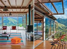 Weekend house with a dream view designed by Lua and Pedro Nitsche