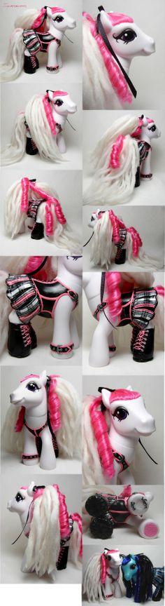 Shirokumo corset pony by Woosie.deviantart.com on @deviantART