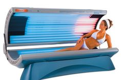 Tanning beds, lotions and sprays are part of an aesthetic desire to be more tanned in colour. It is considered less beautiful if a person is fairer skinned.