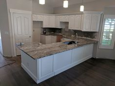 Kitchen refinished in extra white by Chameleon Painting SLC, UT. Furniture, Refinishing Cabinets, Kitchen Refinishing, Home, Kitchen Cabinets, Cabinet, Refinishing Furniture, Kitchen, Laundry Room Cabinets
