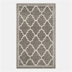 Safavieh Camembert Indoor/Outdoor Rug - Dark Grey / Beige ( X ) : Target Indoor Outdoor Area Rugs, Indoor Outdoor Rugs, Contemporary Area Rugs, Modern Rugs, Grey And Beige, Dark Grey, Gray, Online Shopping, Patio Rugs