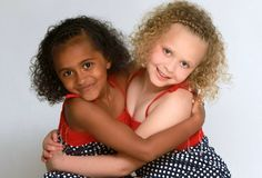 Black and white twins Kian and Remee
