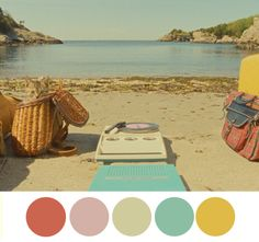 Evas Inspiration // Moonrise Kingdom by Wes Anderson Moonrise Kingdom, Colour Schemes, Color Combos, Wes Anderson Color Palette, Damien Chazelle, Wes Anderson Movies, Films Cinema, Photo Vintage, Color Stories