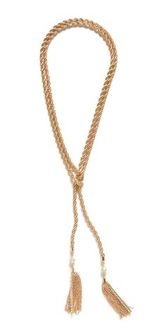 this tassel necklace is the perfect addition to any outfit!