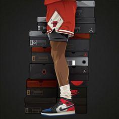 Sneakers Wallpaper, Shoes Wallpaper, Nike Wallpaper, Iphone Wallpaper, Michael Jordan Art, Michael Jordan Pictures, Cool Nike Shoes, Sneaker Posters, Dope Cartoons