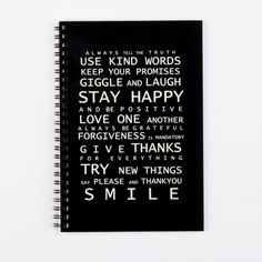 Family rules journal - hardtofind.