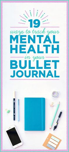 Bullet journals are amazing for tracking tasks, thoughts, activities, and life events, so they lend themselves really well to recording info about your physical and mental health.