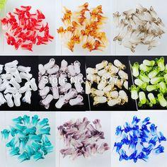 Бесплатная доставка 10 шт./лот Дихроичные Стекла Китайская капуста 20x10 ММ Свободные Шарики Ювелирных Изделий PBW046
