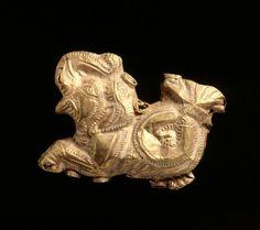 Elephant Pendant 185-72 BC India, Sunga Period (185-72 BC)   Cleveland Museum of Art