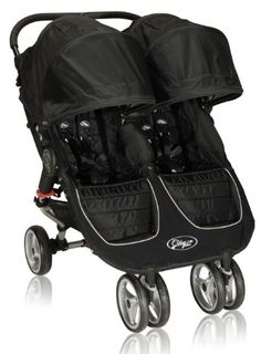 Baby Jogger 2012 City Mini Double Stroller, Black/Gray. Details at http://youzones.com/baby-jogger-2012-city-mini-double-stroller-blackgray/