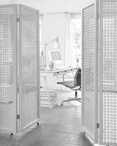 Small room divider screen 10 ideas for dividing small spaces diy projects ideas crafts ideas for Furniture, Fabric Room Dividers, Room, Small Spaces, Home, Glass Room Divider, Privacy Screens Indoor, Space Apartments, Diy Room Divider