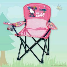 Hello Kitty Kids Folding Chair For Camping