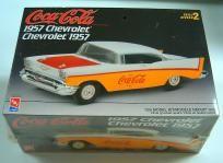 AMT/ERTL COCA-COLA 1957 CHEVROLET MODEL CAR KIT