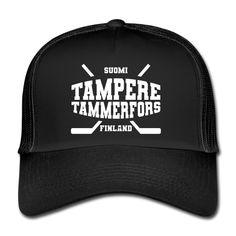 Makiatasku   Jääkiekkokaupunki Tampere - Trucker Cap